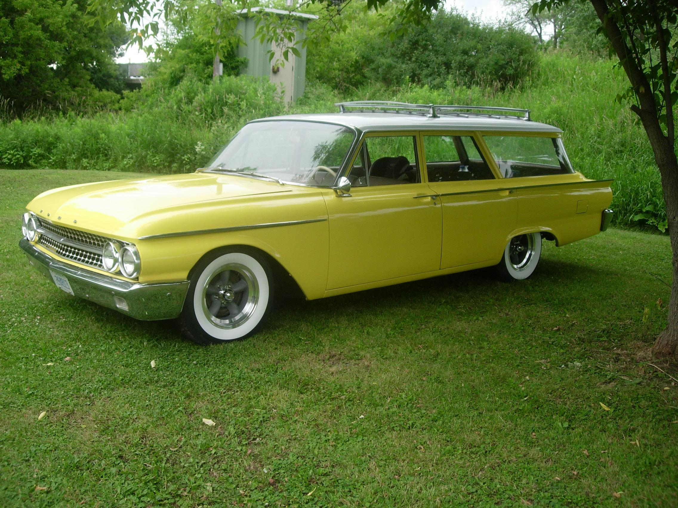 Derbycitydave 1958 Ford Ranchwagon Specs Photos