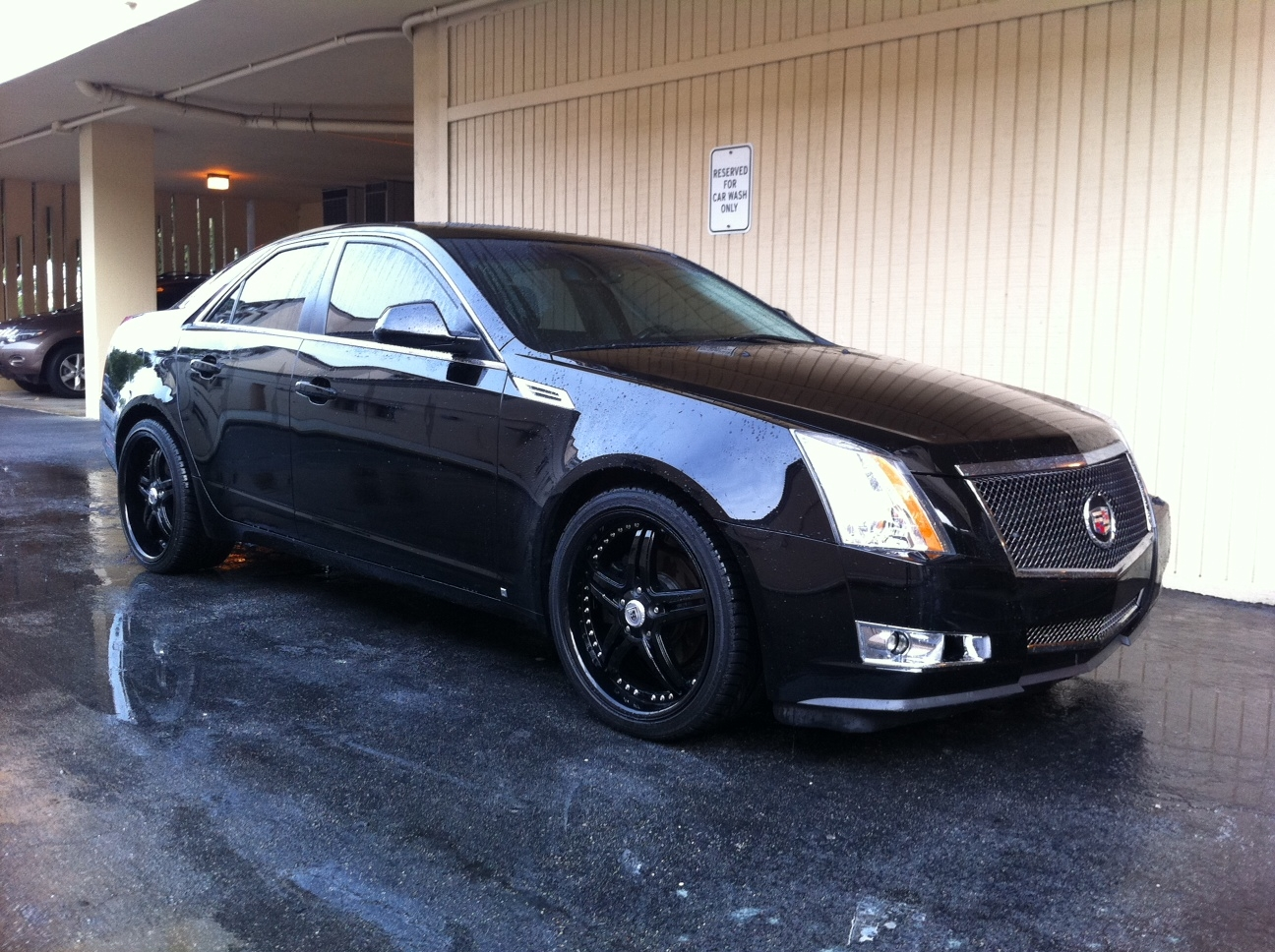 red gallery metal v caddy custom cts vossen photo liquorice liquid carscoops wheels cadillac rocks ctsv