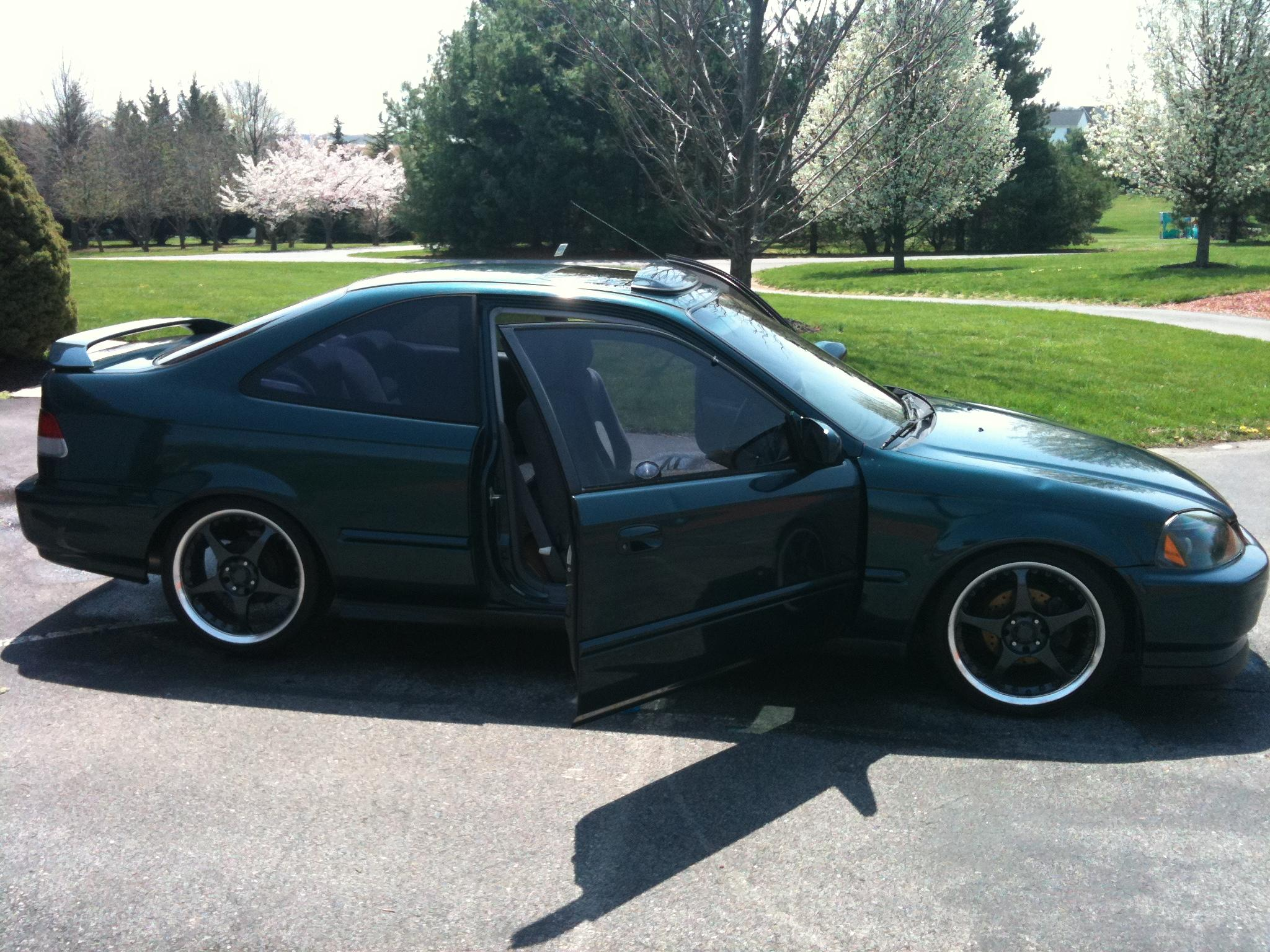rionparker 1997 honda civicex coupe 2d specs photos modification info at cardomain. Black Bedroom Furniture Sets. Home Design Ideas