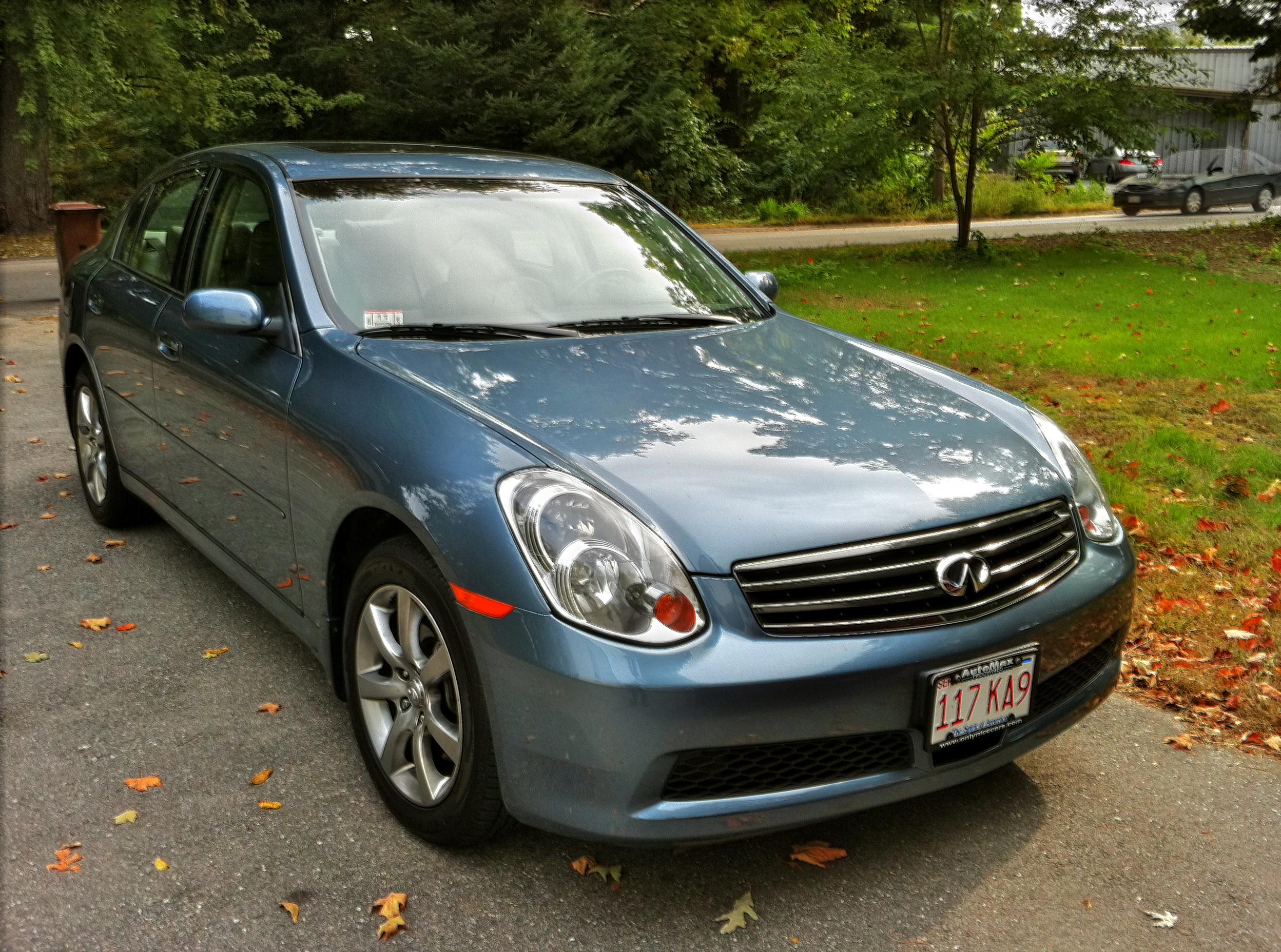 enews 39 s 2006 infiniti g g35x sedan 4d in worcester ma. Black Bedroom Furniture Sets. Home Design Ideas