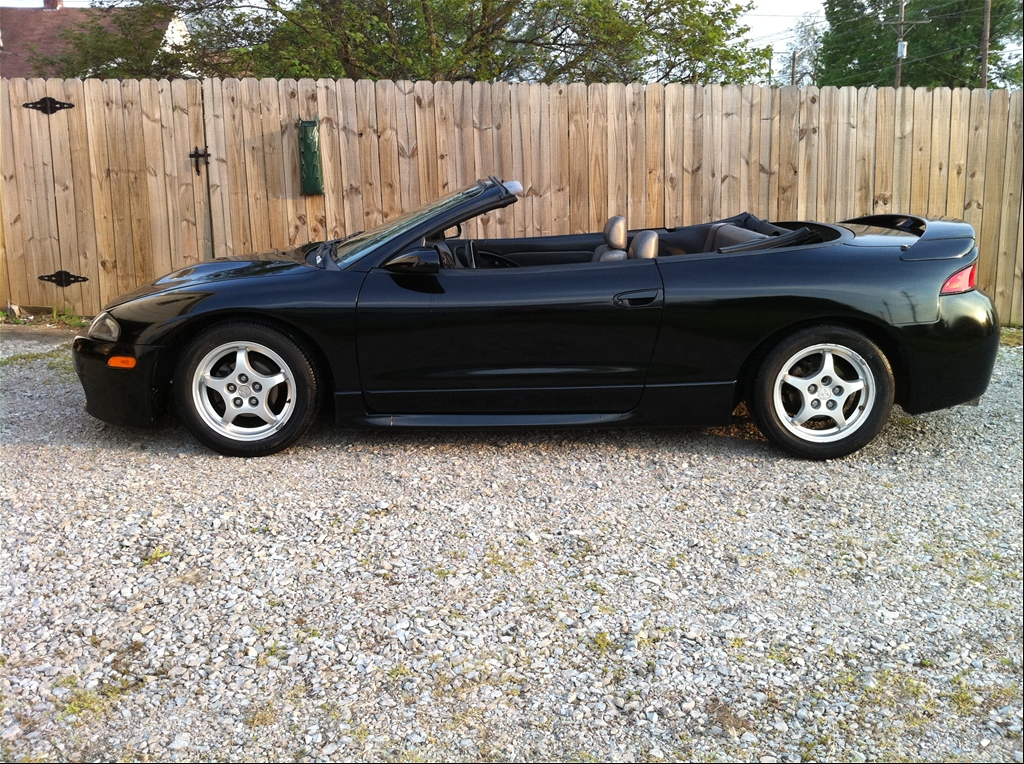 rbmurray15 39 s 1998 mitsubishi eclipse gs t spyder convertible 2d in columbus in. Black Bedroom Furniture Sets. Home Design Ideas