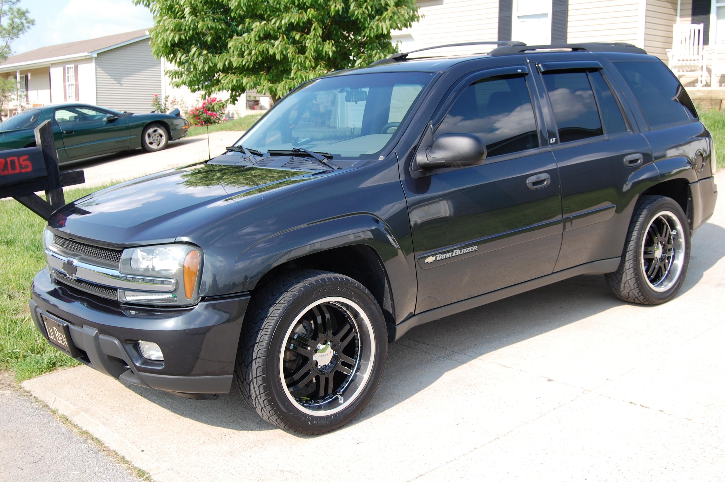 Jabali 2003 chevrolet trailblazer