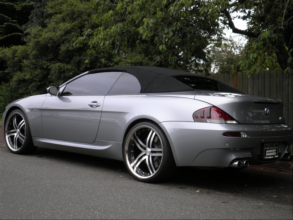 justinkairis 2008 bmw m6convertible 2d specs photos modification info at cardomain. Black Bedroom Furniture Sets. Home Design Ideas