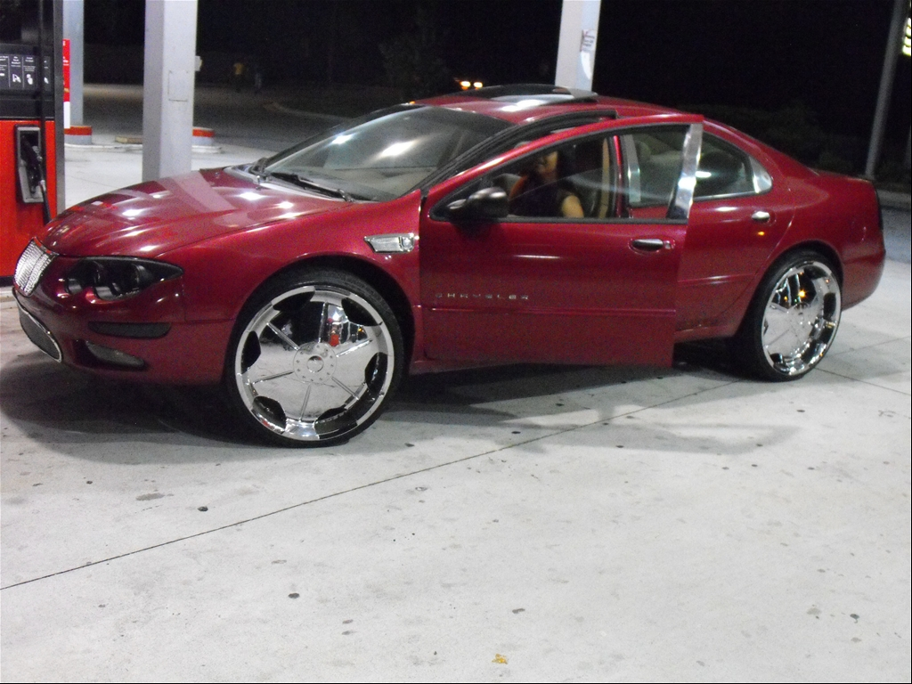 chysler 300m on 24s...yall not