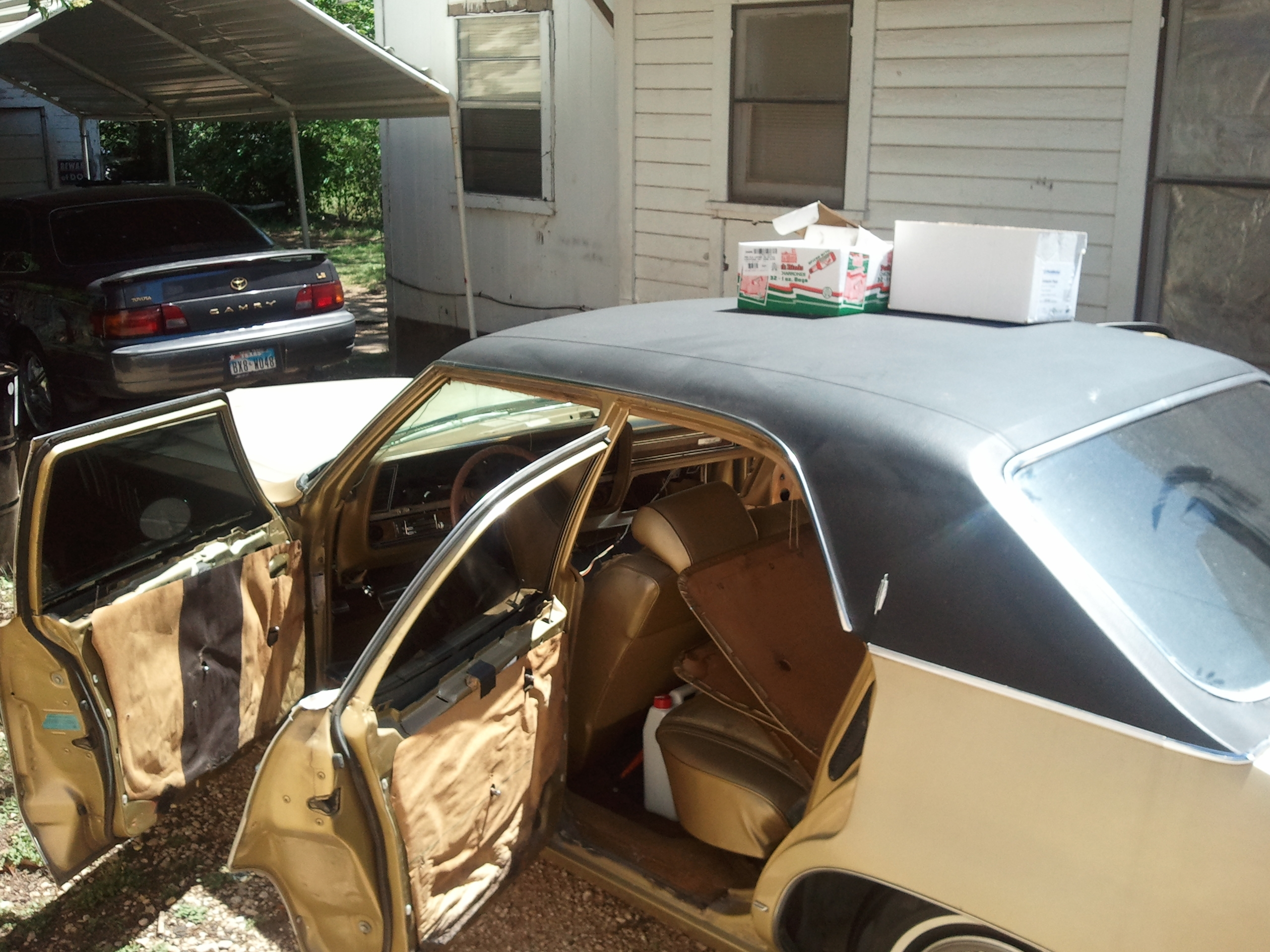 Another CaliMadeTxRaise 1970 Oldsmobile Delta 88 post... - 15134362