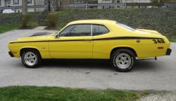 knightracings 1973 Plymouth Duster