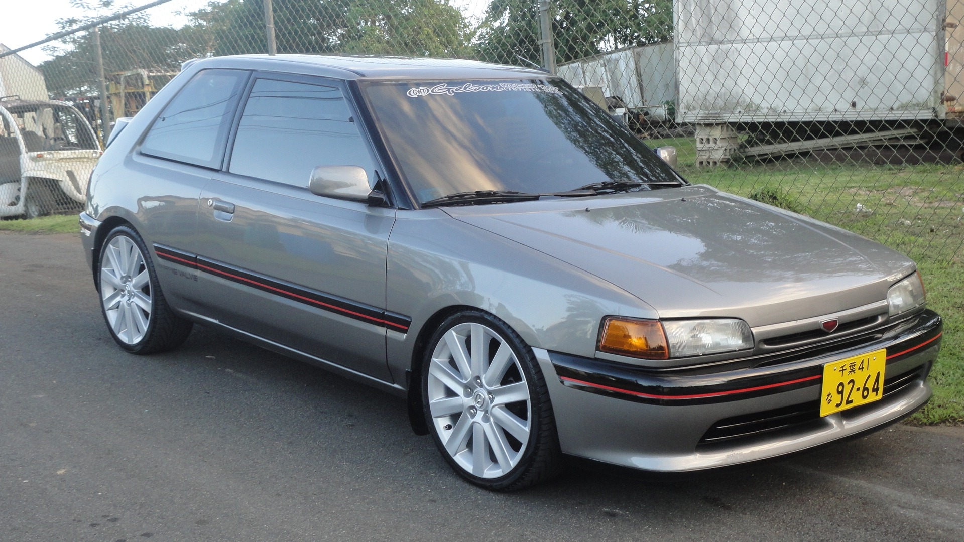 323mecanicapagan 1993 mazda 323 specs photos modification info at cardomain. Black Bedroom Furniture Sets. Home Design Ideas