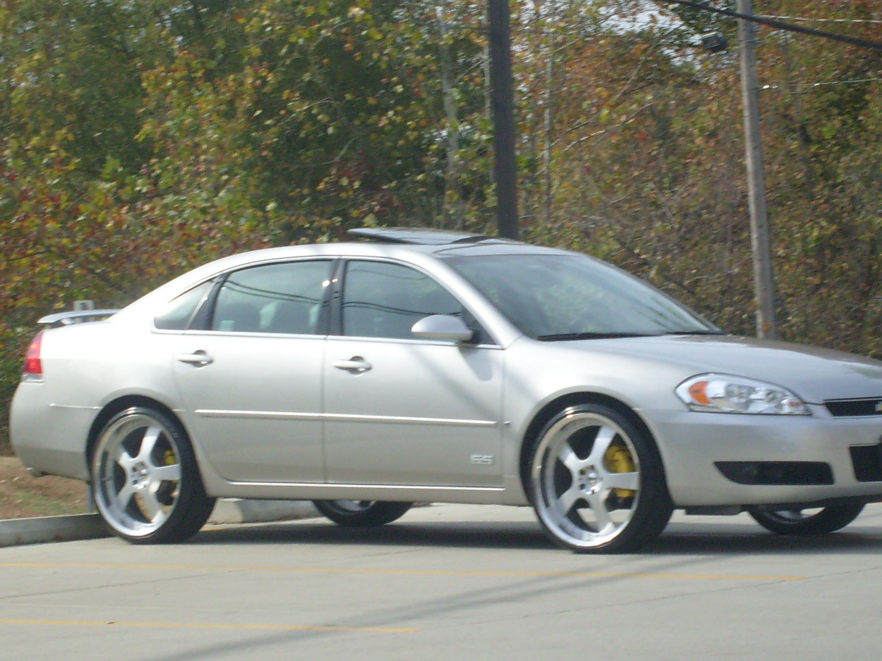 Impala Ss 2008 With Rims