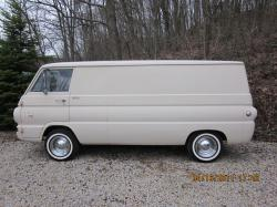 east-bound 1968 Dodge A-Series