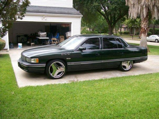 veefromdawest 1994 cadillac devilleconcours sedan 4d specs photos modification info at cardomain. Black Bedroom Furniture Sets. Home Design Ideas