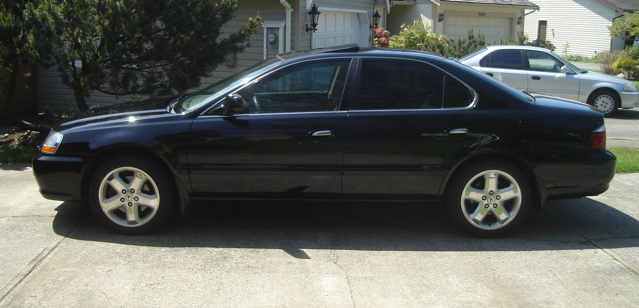 splifted 2003 acura tlsedan 4d specs photos modification. Black Bedroom Furniture Sets. Home Design Ideas