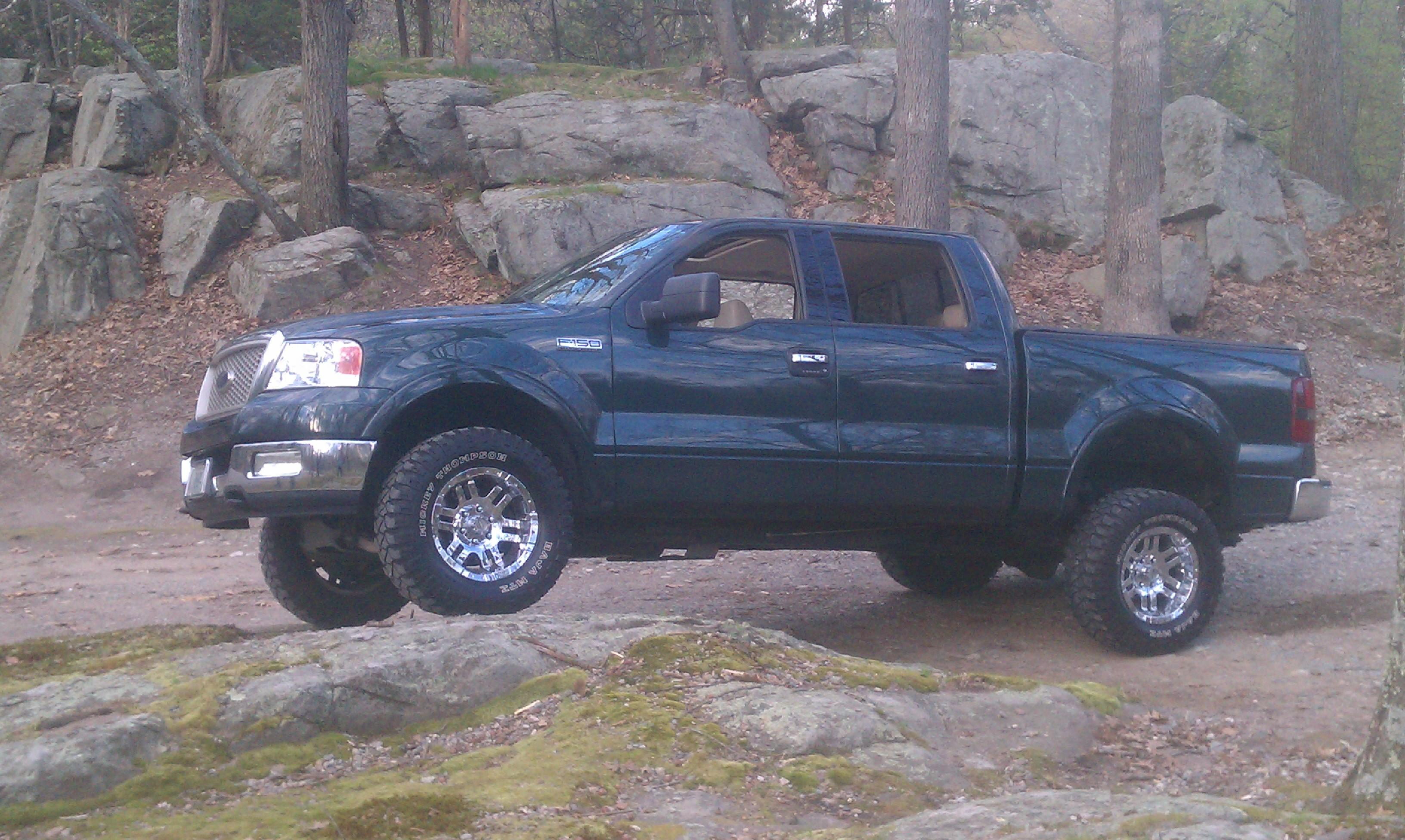 ultima99se 2004 Ford F150 SuperCrew CabLariat Styleside Pickup 4D