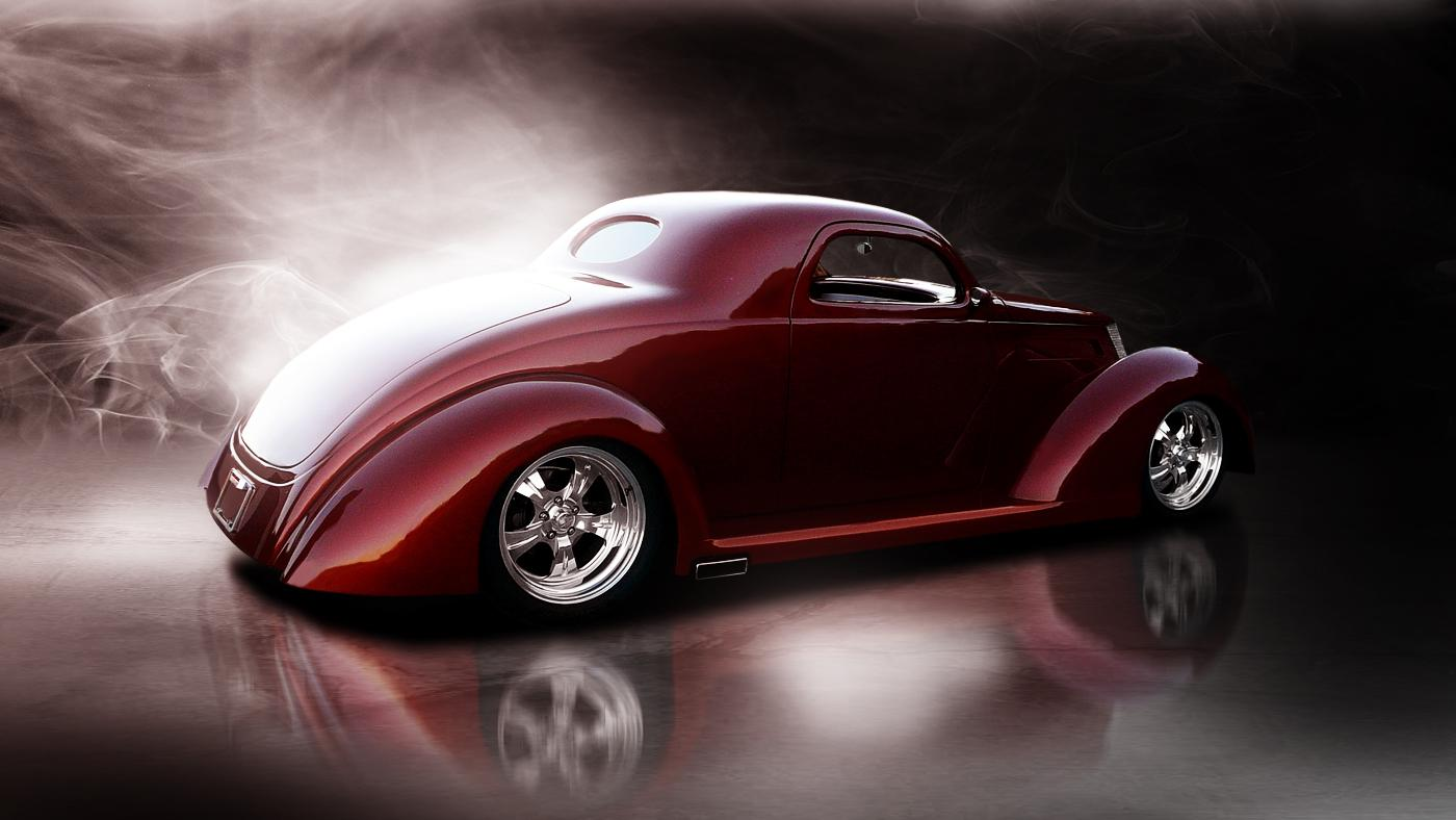 Original on 1937 Ford Coupe Interior