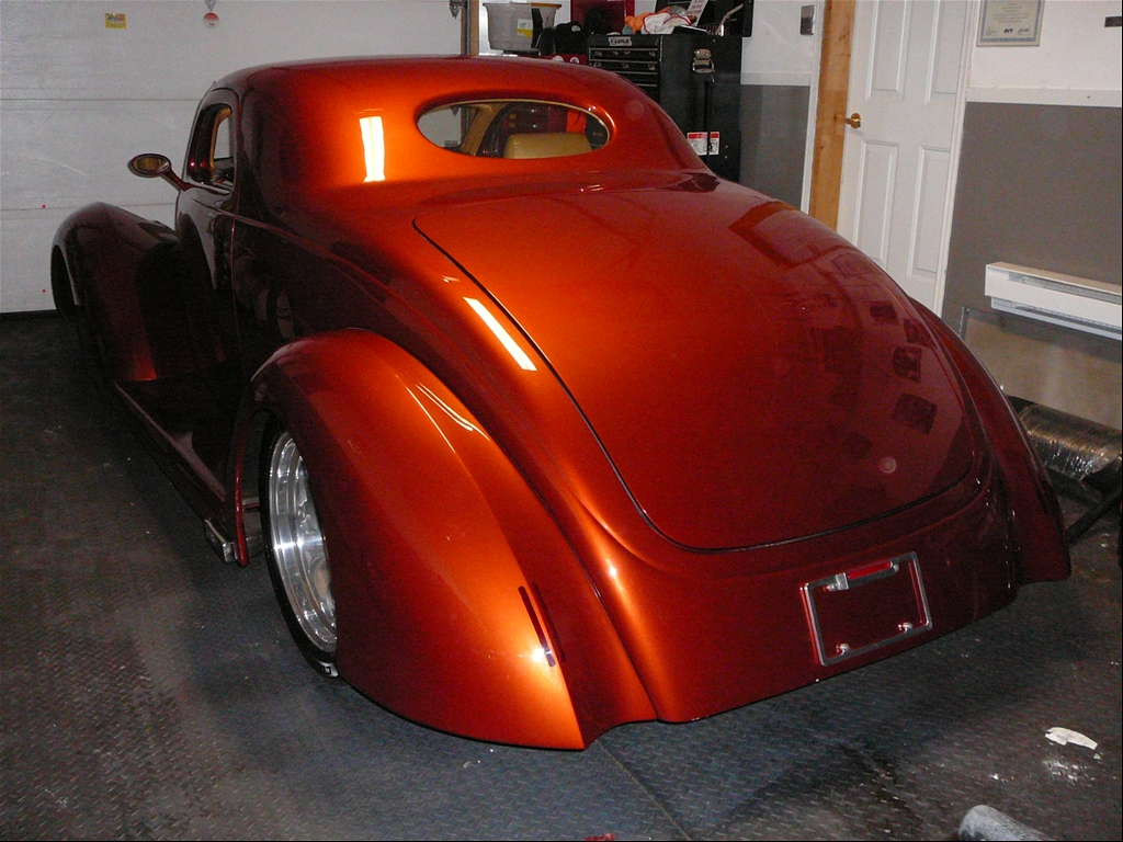 1crazycanuck's 1937 Ford Coupe