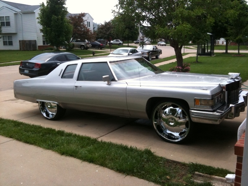 Cadillac On 26 Inch Rims : Cadillac deville on s wheels