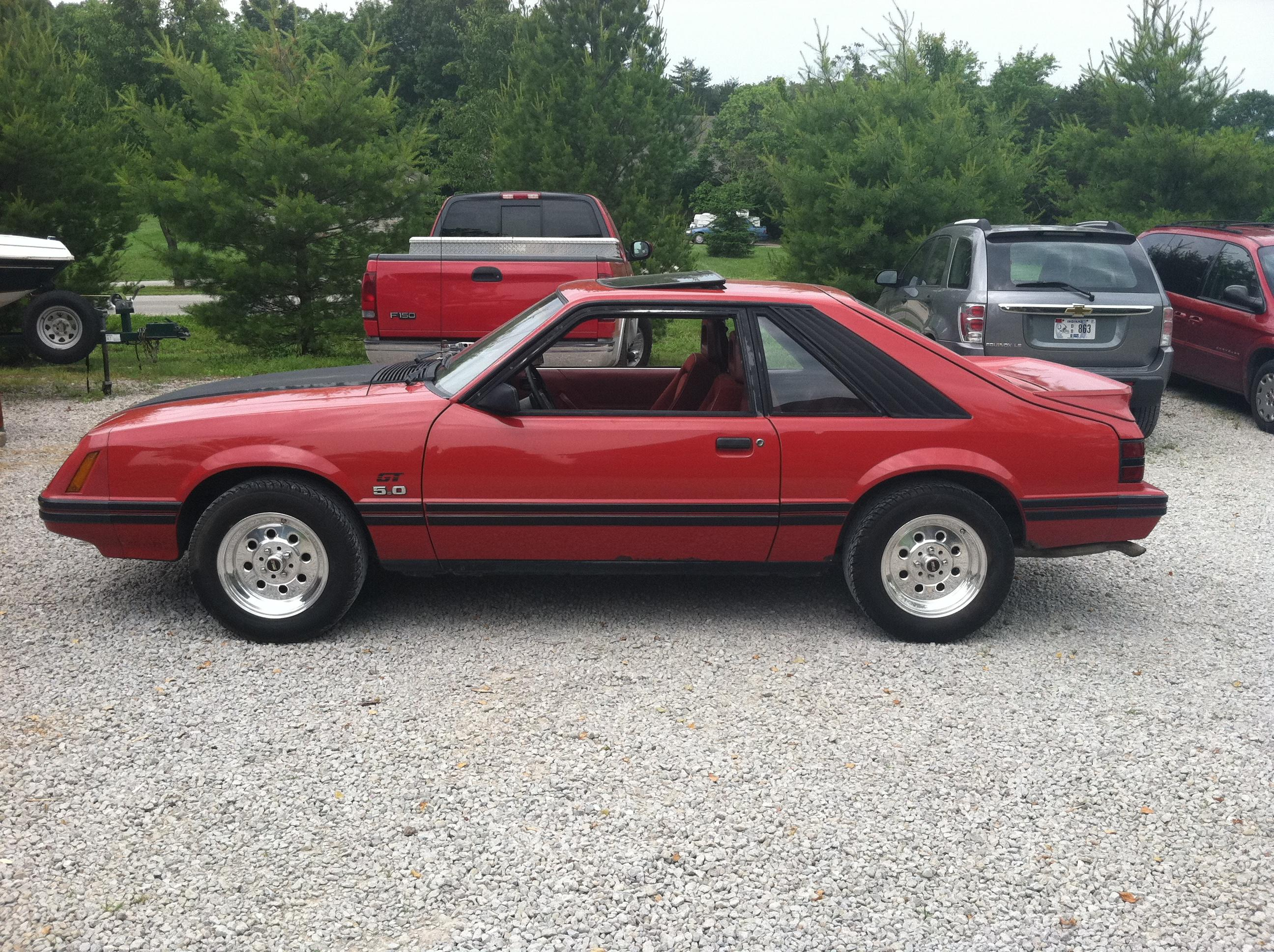 Fastkidcoms 1984 ford mustang in sellersburg in car wallpaper