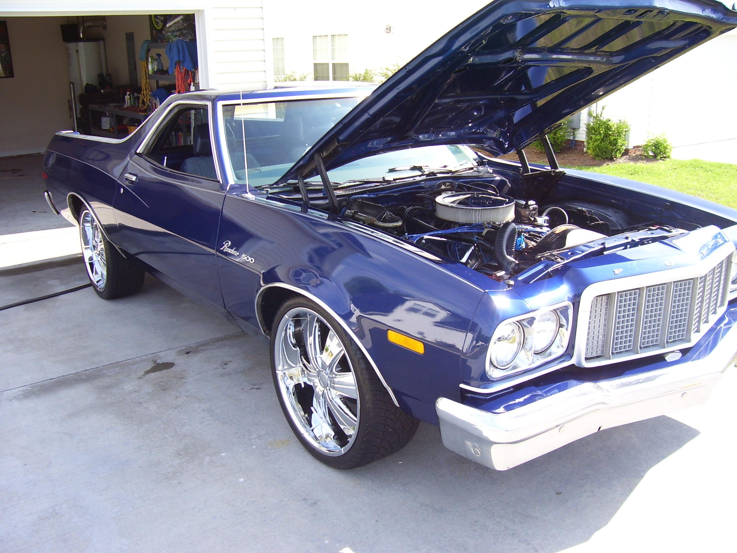 Ford Columbia Sc >> lowheels 1976 Ford Ranchero Specs, Photos, Modification ...