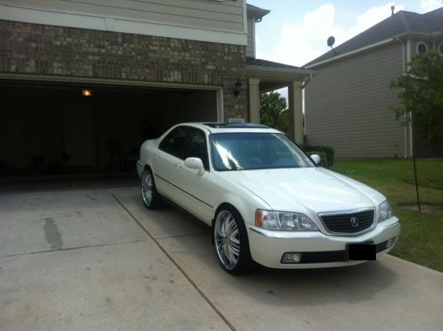 mike5000wattstx 2000 Acura RL3.5 Sedan 4D Specs, Photos ...