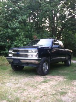 TEEGEs 1995 Chevrolet 1500 Extended Cab