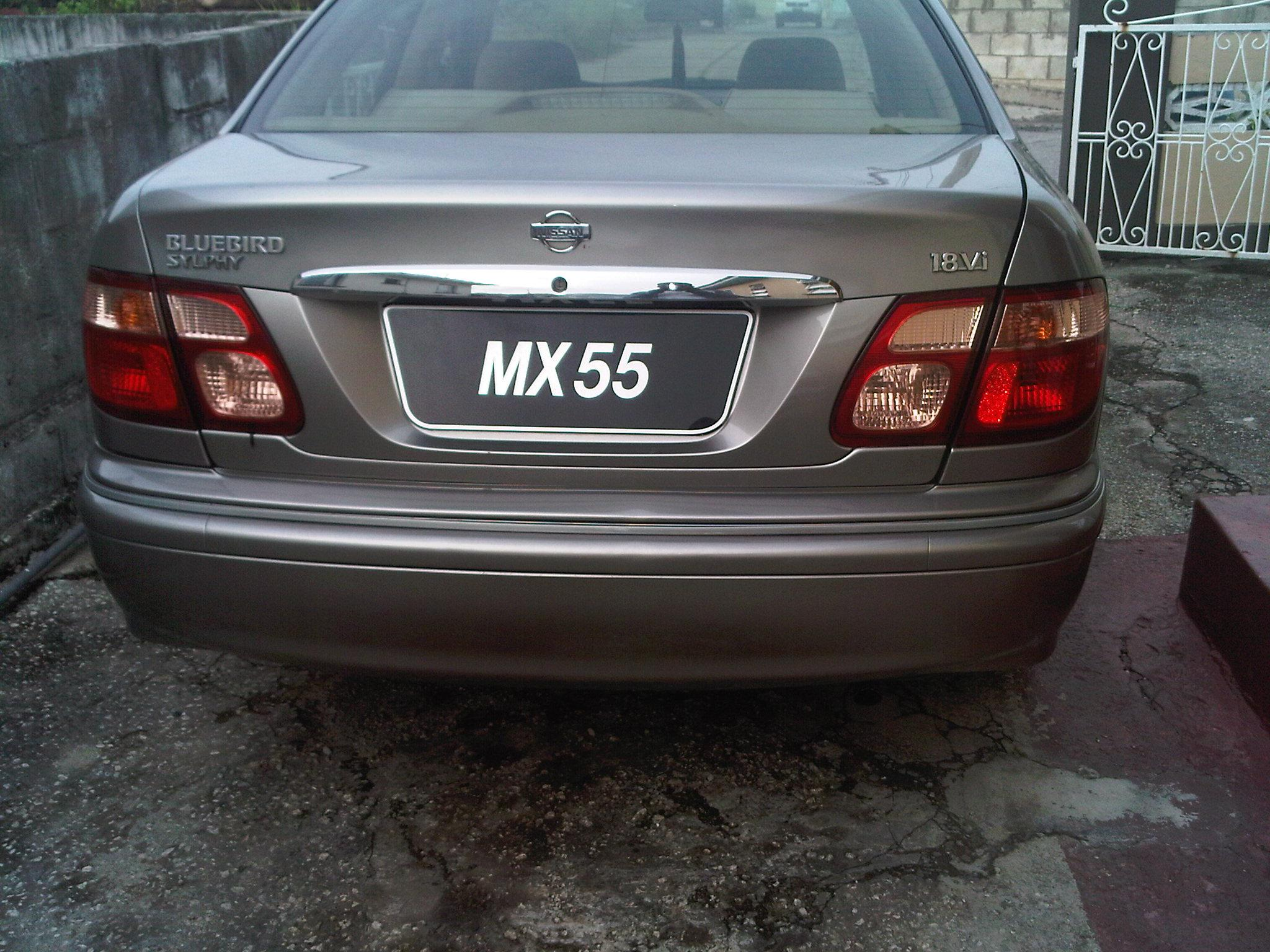 shortest-1017 2003 Nissan Bluebird 15178438