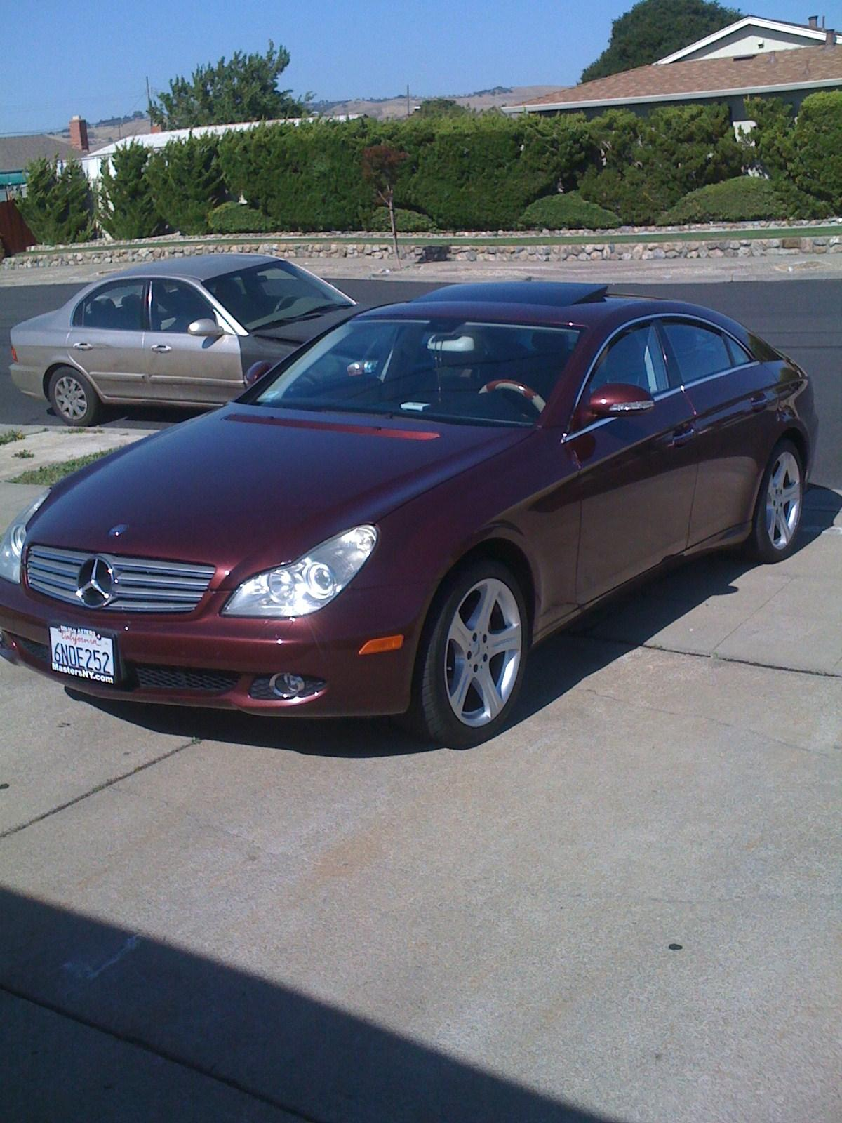 Cls ny to da bay 2007 mercedes benz cls classcls550 coupe for 2007 mercedes benz cls class