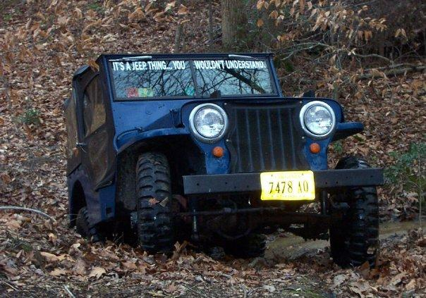 DJs89Bronco's 1948 Jeep CJ2A
