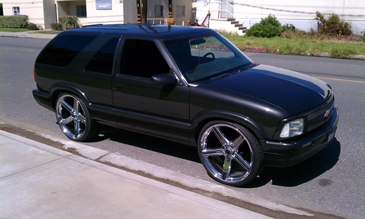 chevy s10 on 24s