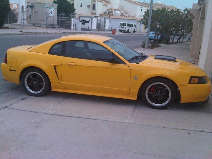 79_Chevy 1999 Ford Mustang