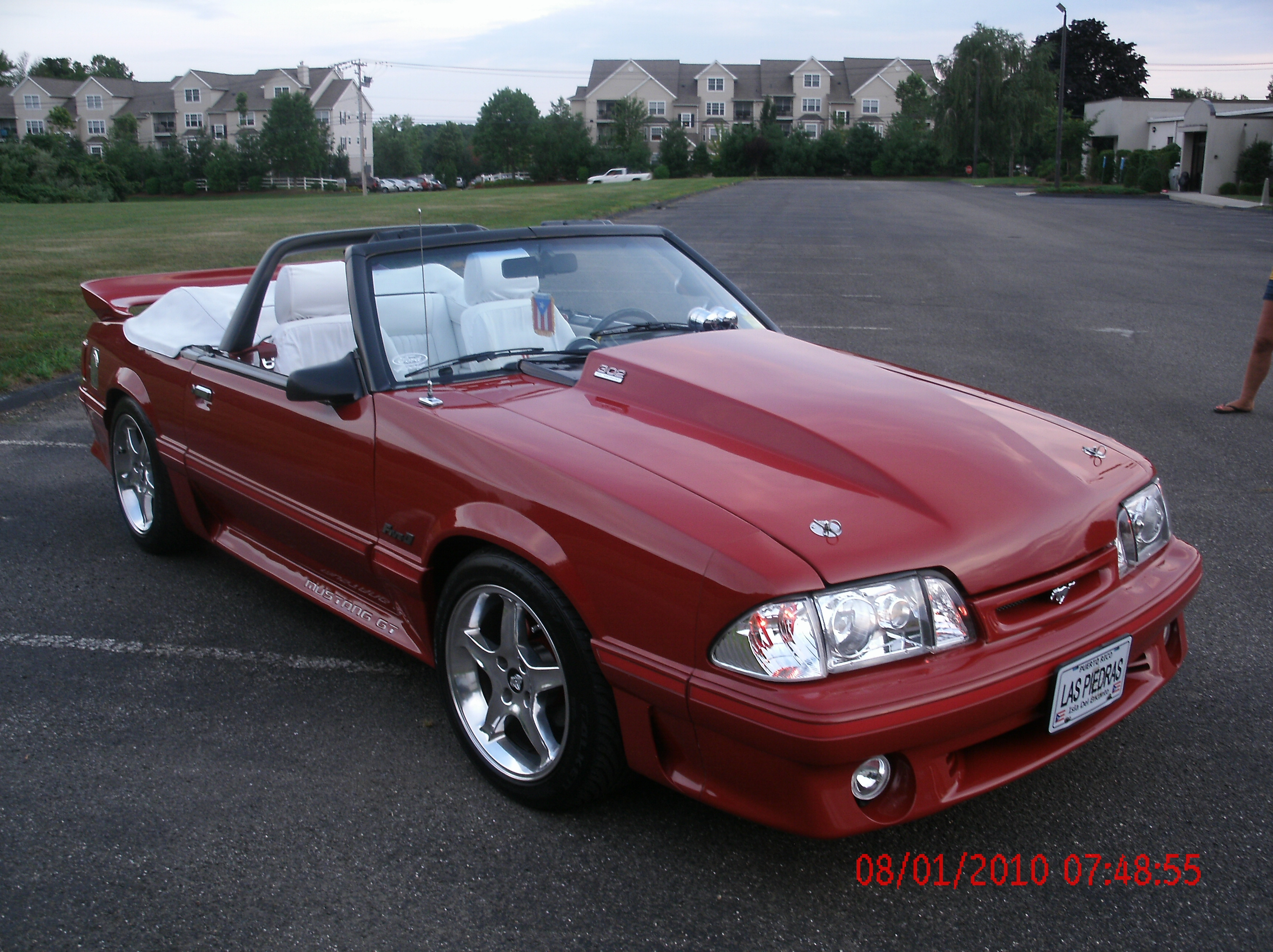 laspiedras 1988 Ford Mustang