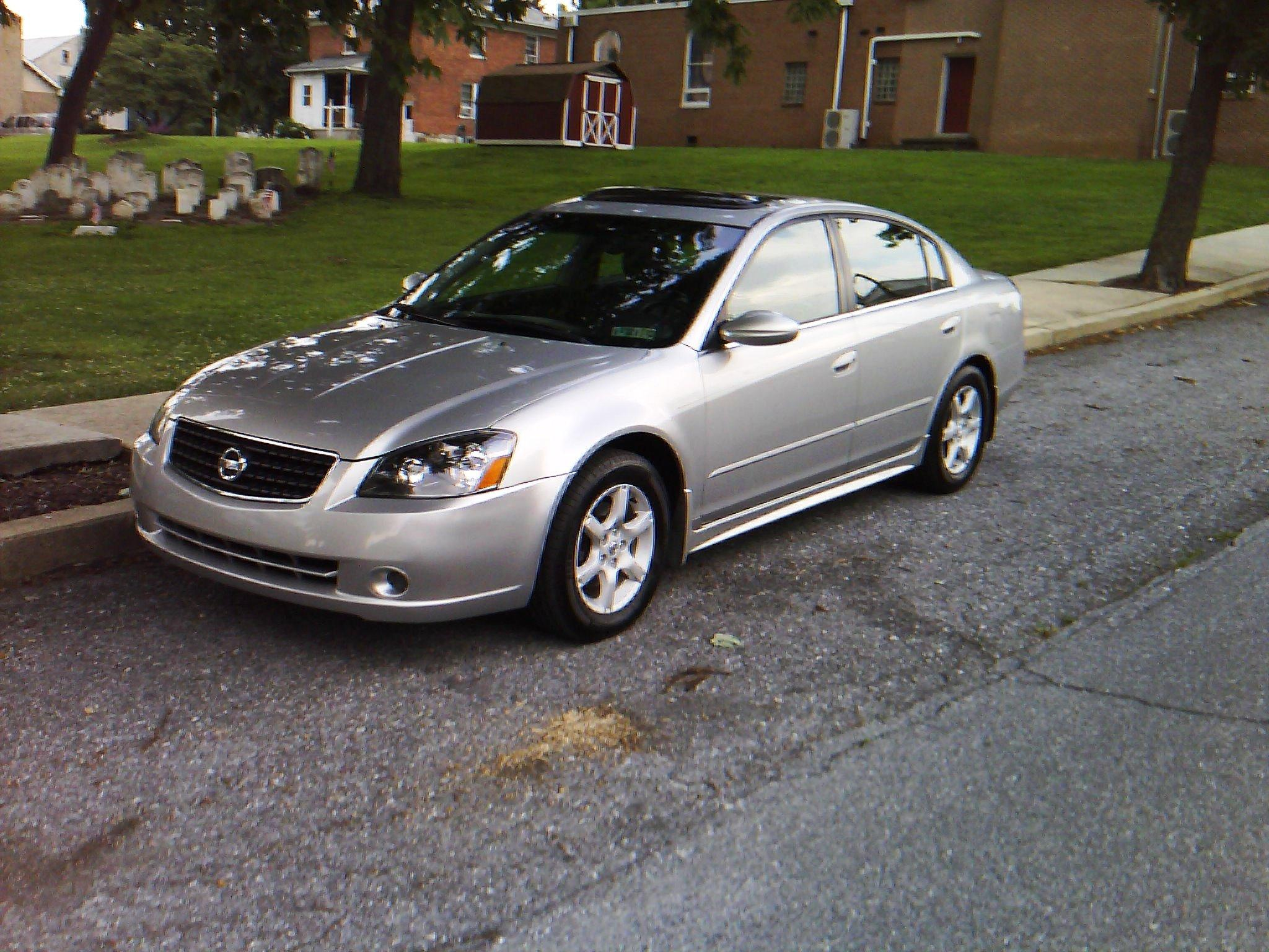 Nissan Altima 2.5S >> tigerwolf007 2006 Nissan Altima2.5 S Sedan 4D Specs ...