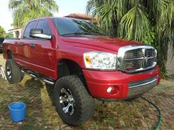BigredHEMIpowers 2008 Dodge Ram 1500 Quad Cab