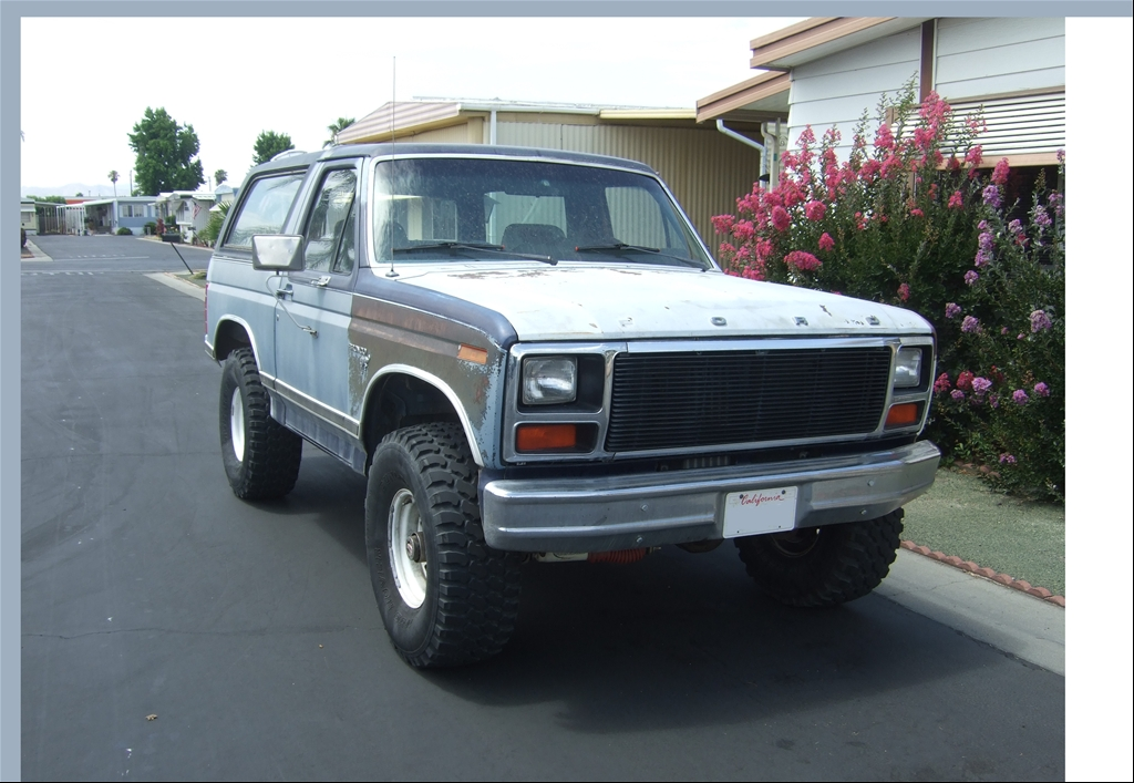 Ford Rock Crawler http://www.cardomain.com/ride/3929367/1981-ford-bronco/
