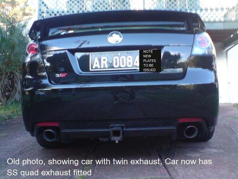 Another rambaugh 2006 Holden Commodore post... - 15196981