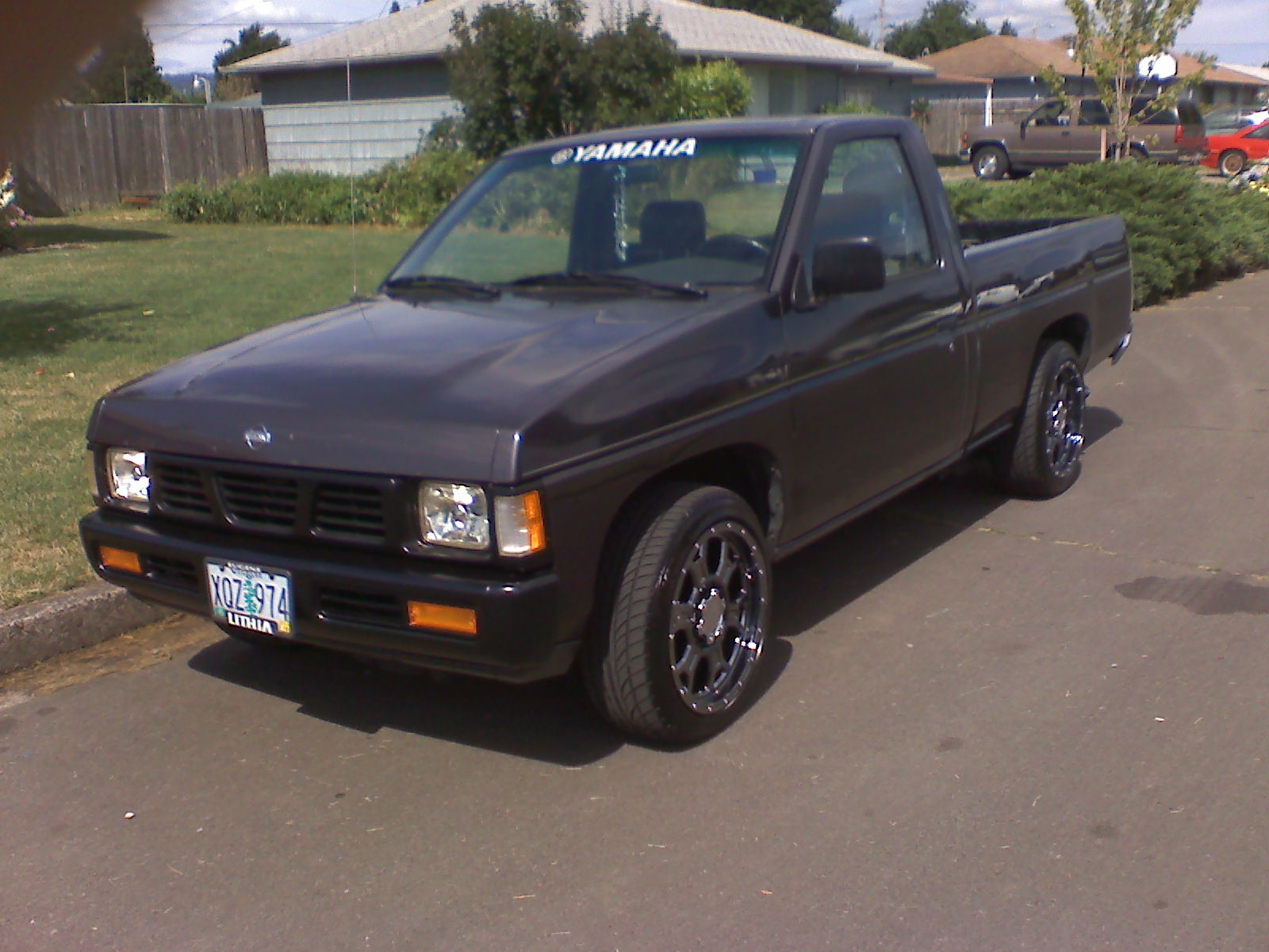 nagundy 1995 nissan d21 pick up specs photos. Black Bedroom Furniture Sets. Home Design Ideas