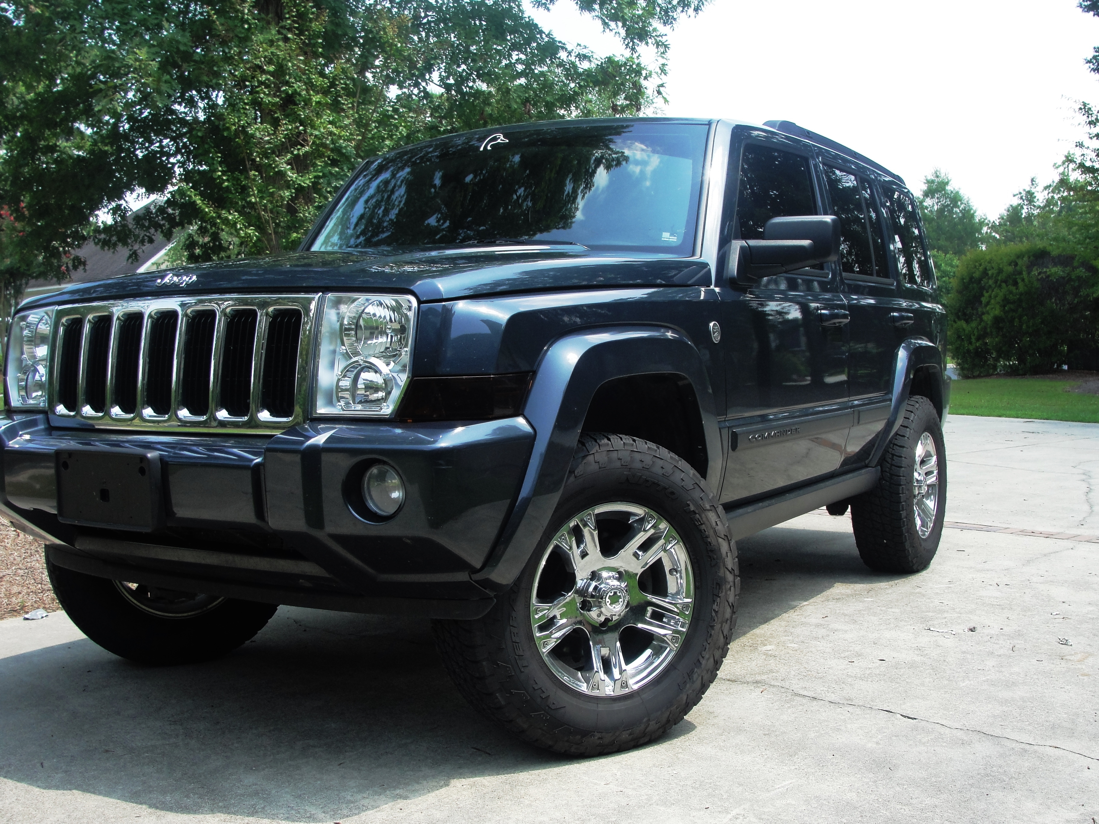 mikey-day 2007 jeep commander specs, photos, modification info at