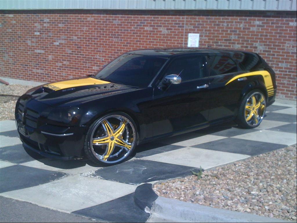 Black and yellow dodge magnum pinterest dodge magnum dodge and cars