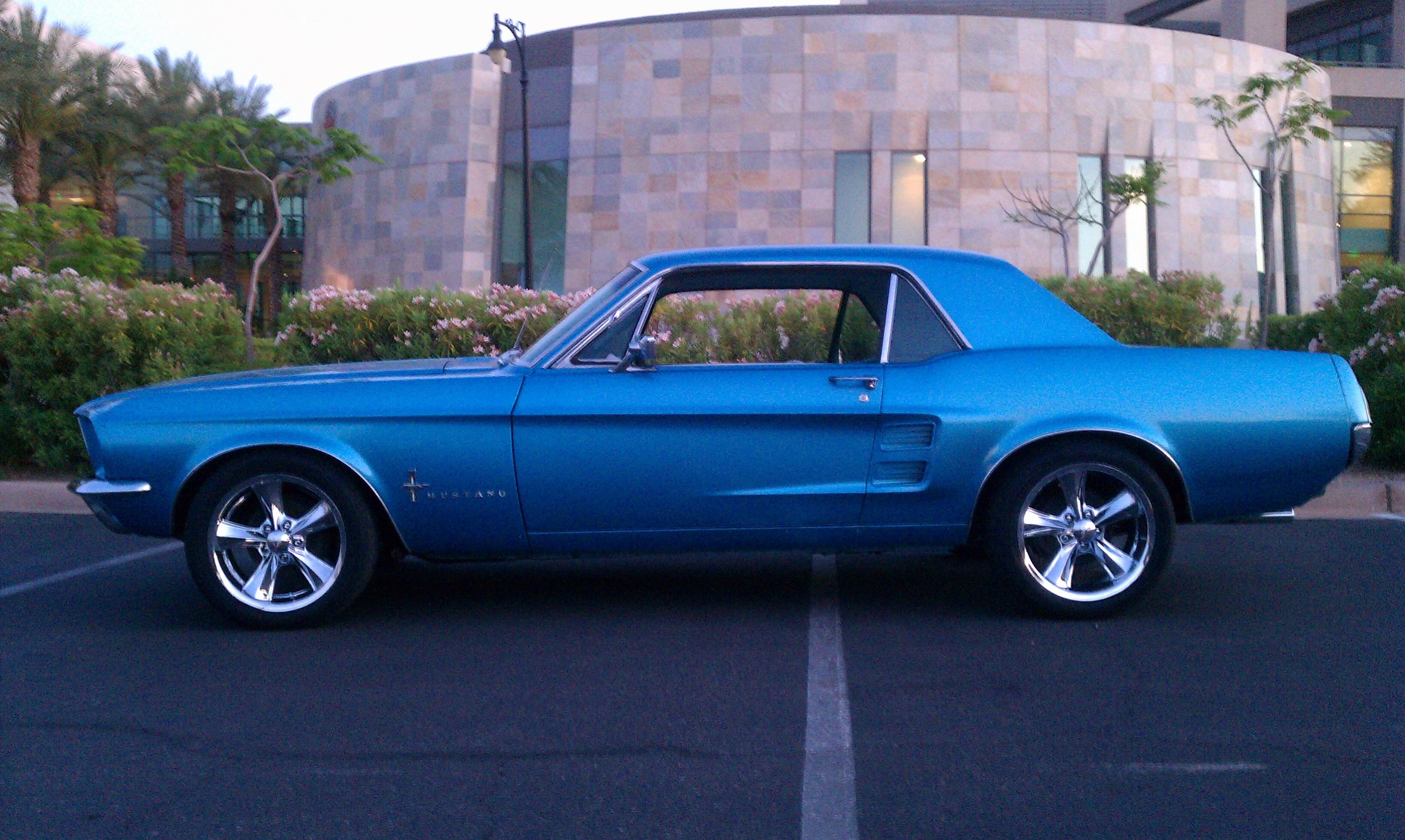 Another Ford Horses 1967 Ford Mustang post... - 15205527