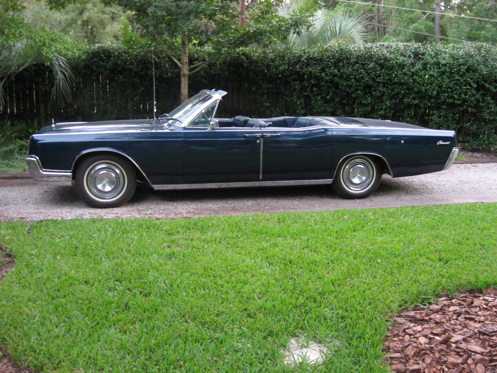 Powerstrokin250 1967 Lincoln Continental
