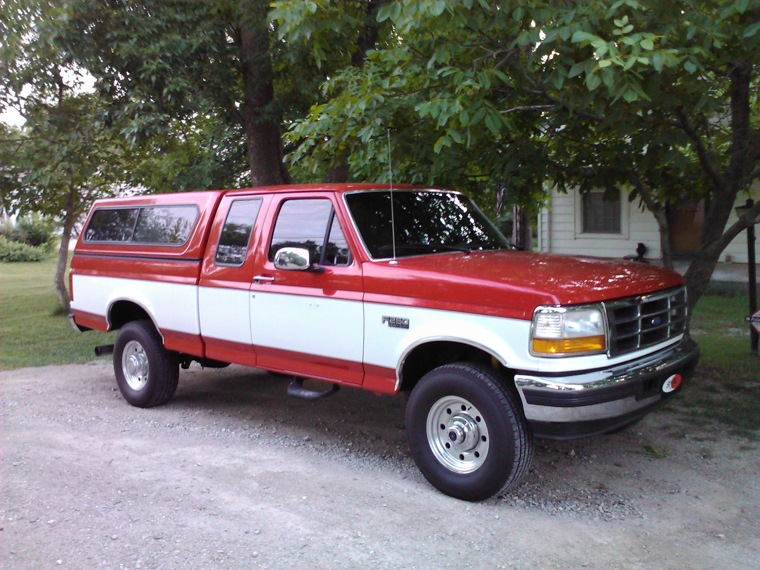 1997 ford f250 super cab hd long bed