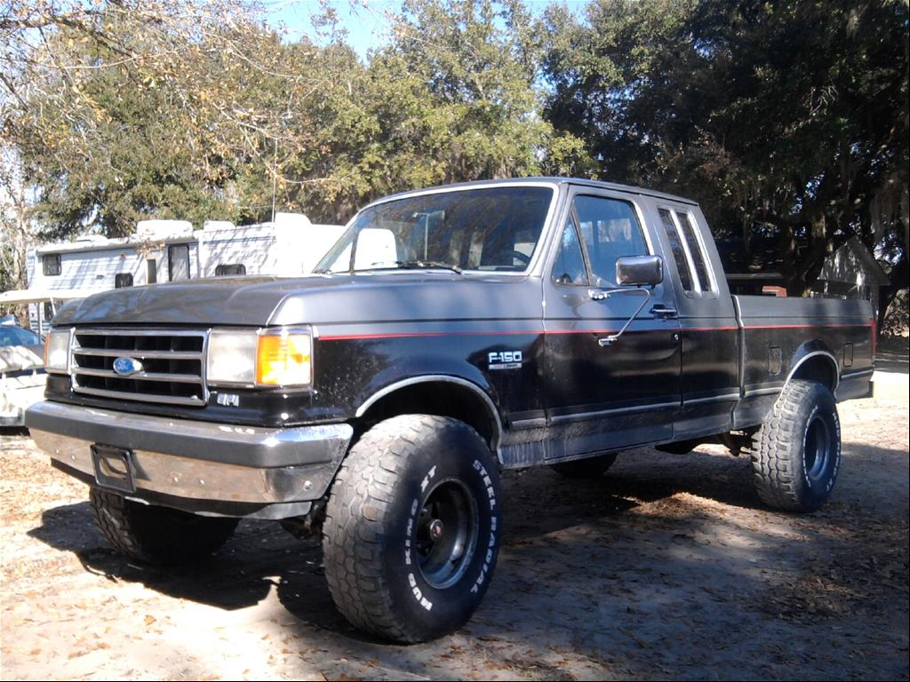 1989 Ford F-150 Lifted