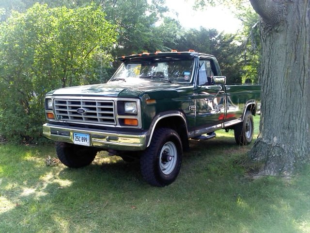 1984 ford f250 4x4 value