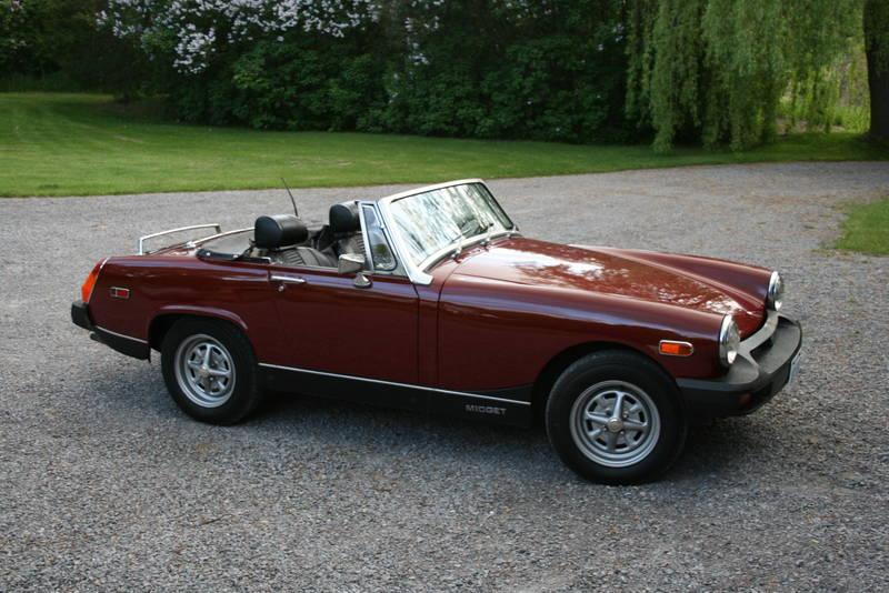 Does mg midget dimensions rather
