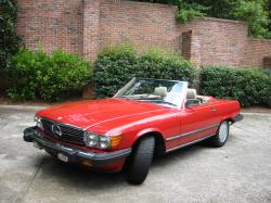 trouper 1988 Mercedes-Benz 560SL