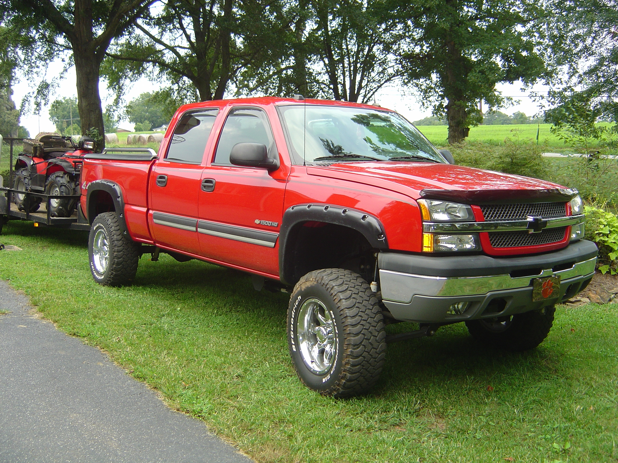 sportsman23 2005 chevrolet silverado classic 1500 hd crew cab specs photos modification info. Black Bedroom Furniture Sets. Home Design Ideas