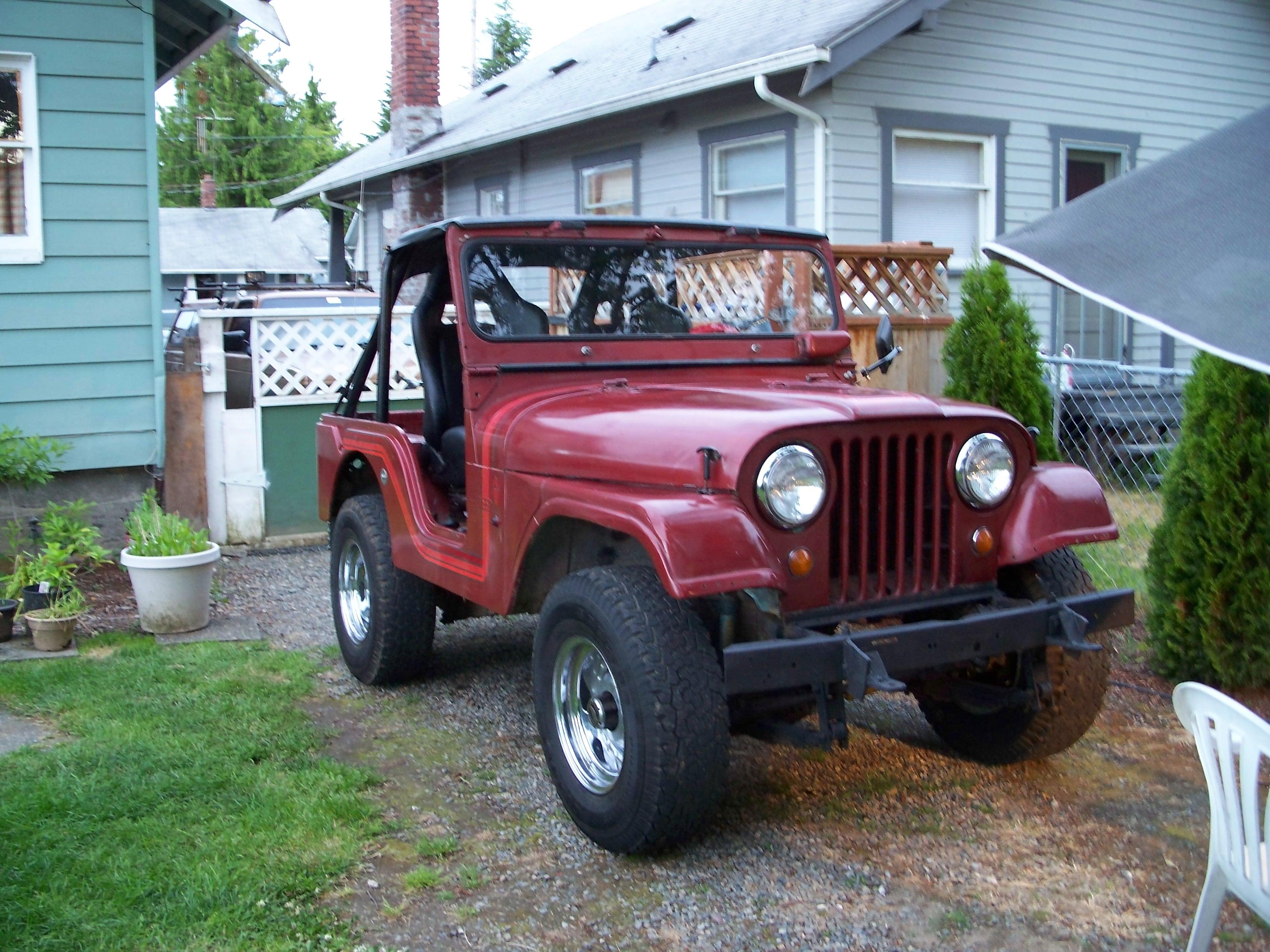 Jeep cj5 weight