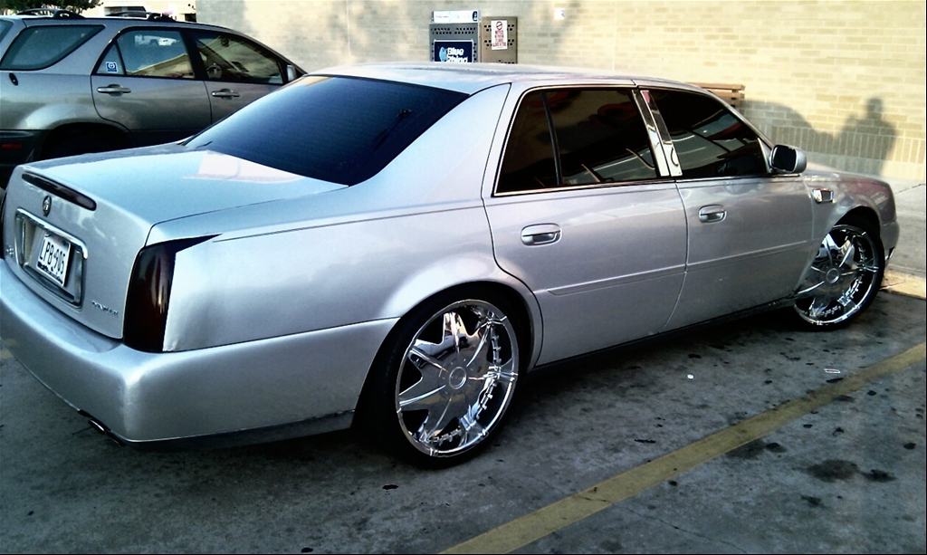 Cadillac DeVille On 22 Inch Rims