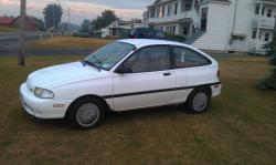 WhiteAspire97 1997 Ford Aspire