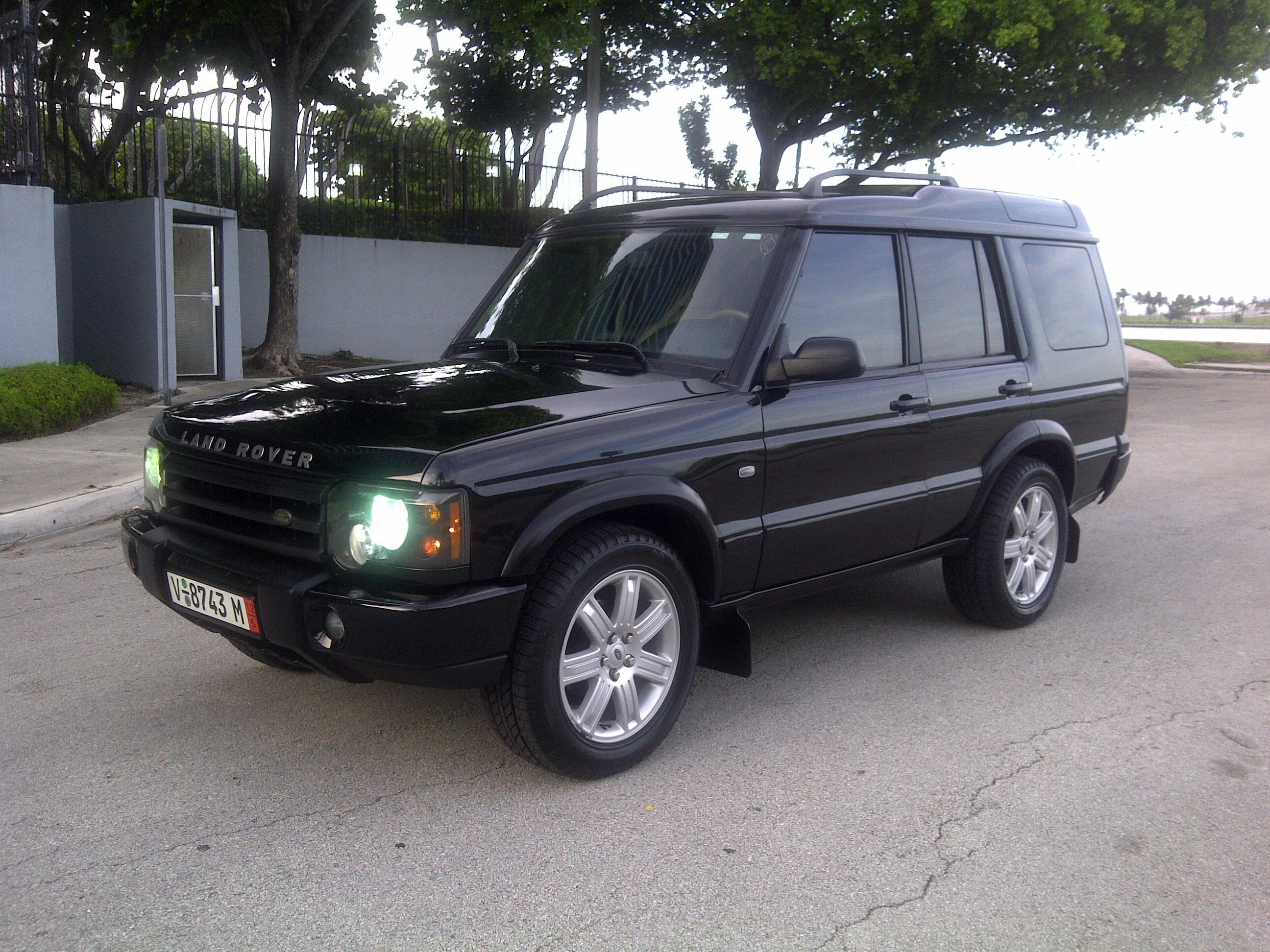 Danni9mm 2003 Land Rover Discovery Series Ii Specs  Photos