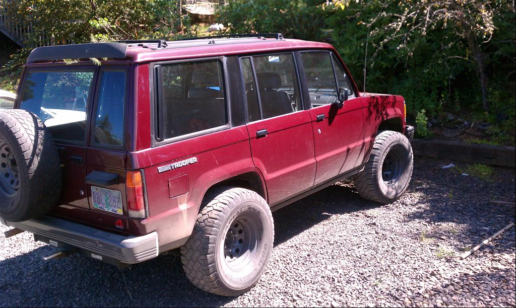 1988 Isuzu Trooper - Silverton, OR owned by skipbuck Page:1 at ...