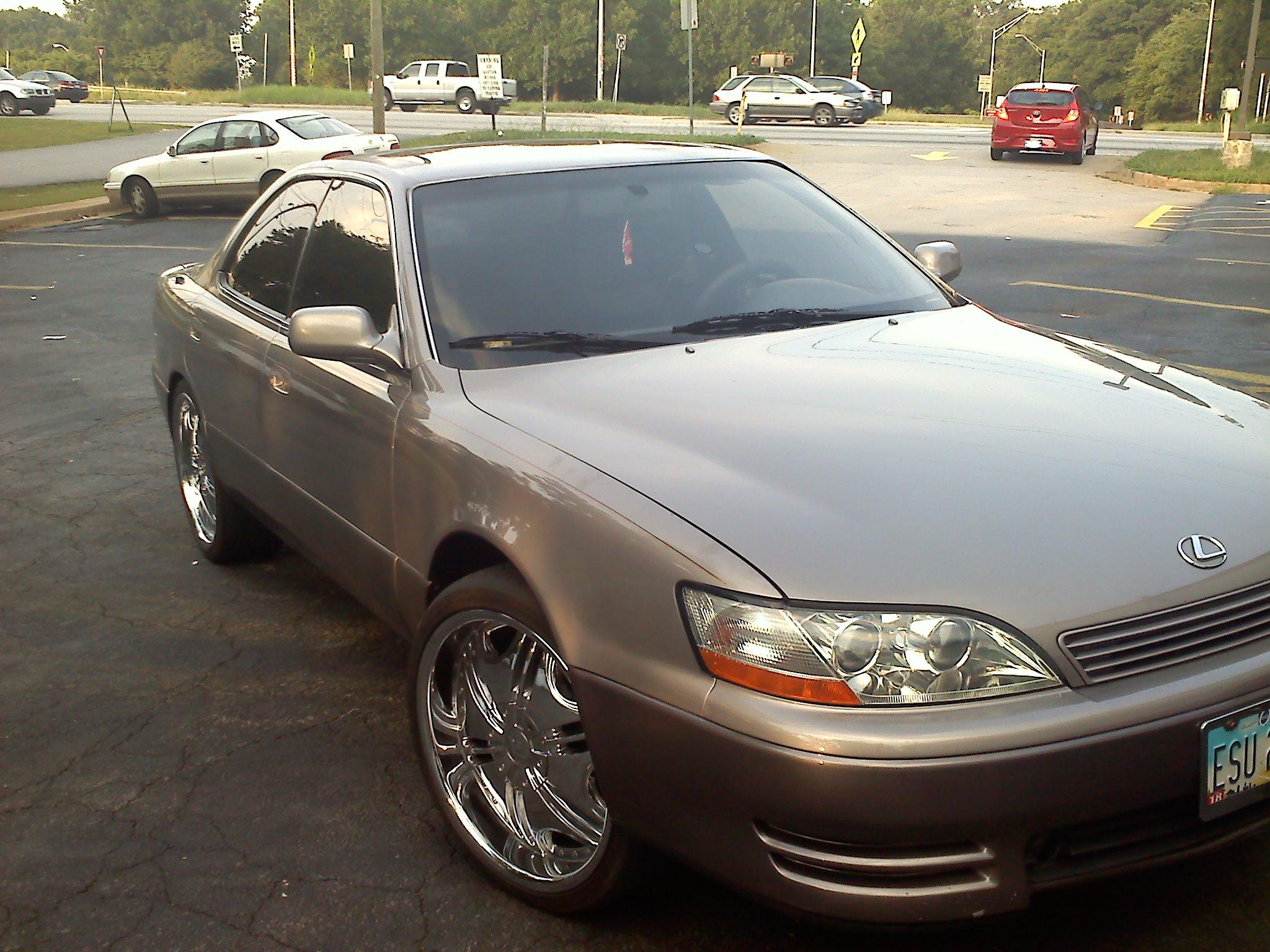 shynenow1 1993 Lexus ESES 300 Sedan 4D Specs, Photos, Modification
